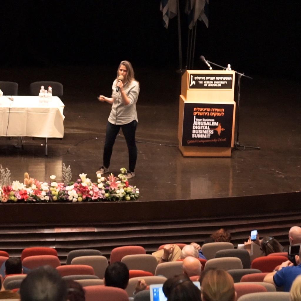 הרצאות בכנס ירושלים
